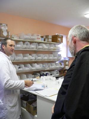 Medikamentenausgabe - klinikeigene Apotheke